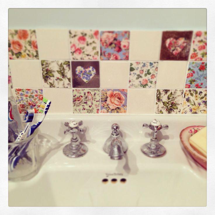 My welbeck patchwork tiles...
