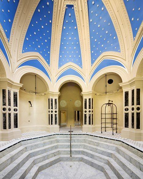 Rácz Thermal Baths in Budapest, hungary. courtesy of dezeen magazine.