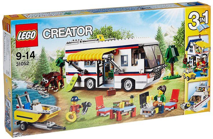 LEGO Creator 31052 - Set Costruzioni Vacanza sul Camper: Amazon.it: Giochi e giocattoli