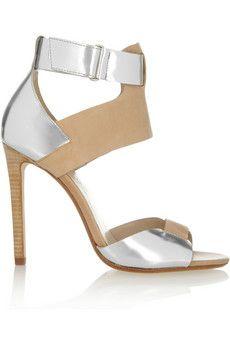 Kors Michael Kors | tan & silver sandals