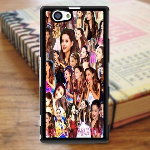 Ariana Grande Singer Collage Sony Experia Z3 Case
