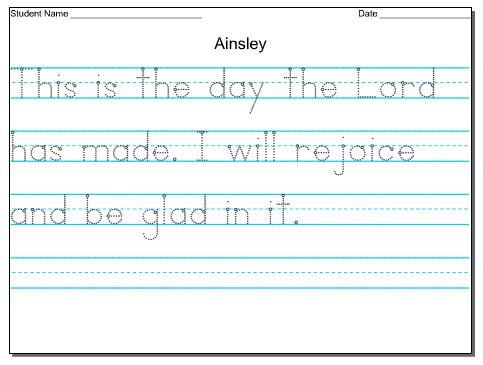 Printables Handwriting Worksheets For Kindergarten Names make your own tracing worksheets versaldobip 1000 images about sherdinabeth yahoo com on pinterest farm unit custom for preschool