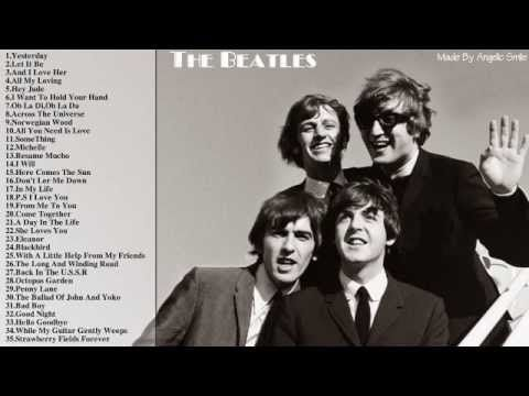▶ The Beatles - Best Songs Of The Beatles || The Beatles's Greatest Hits - YouTube
