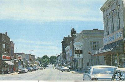 Iowa St., Dodgeville, WI.  Highland WI where I lived from 1976-1979 was about 18 miles west and north of Dodgeville. Dodgeville had  the nearest laundromat which meant a trip into the 'big' town every week or so.  Dodgeville = 4,500 people, Village of Highland = 785 people.  Highland had more cows than people.