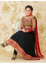Sari is a traditional dress of the Indian women. This is a four yard cloth worn around the body of the women. It is worn while doing every kind of works in home, office or parties.