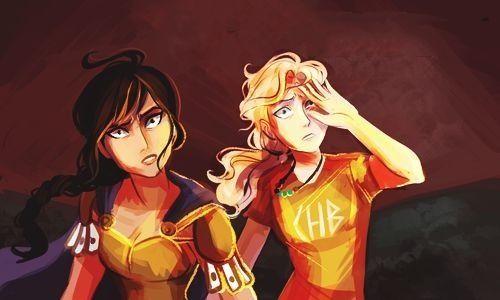 reyna amp annabeth by viria heroes of olympus and percy