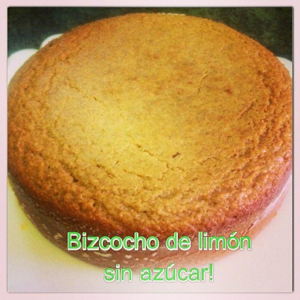 biscocho de limon sin azucar