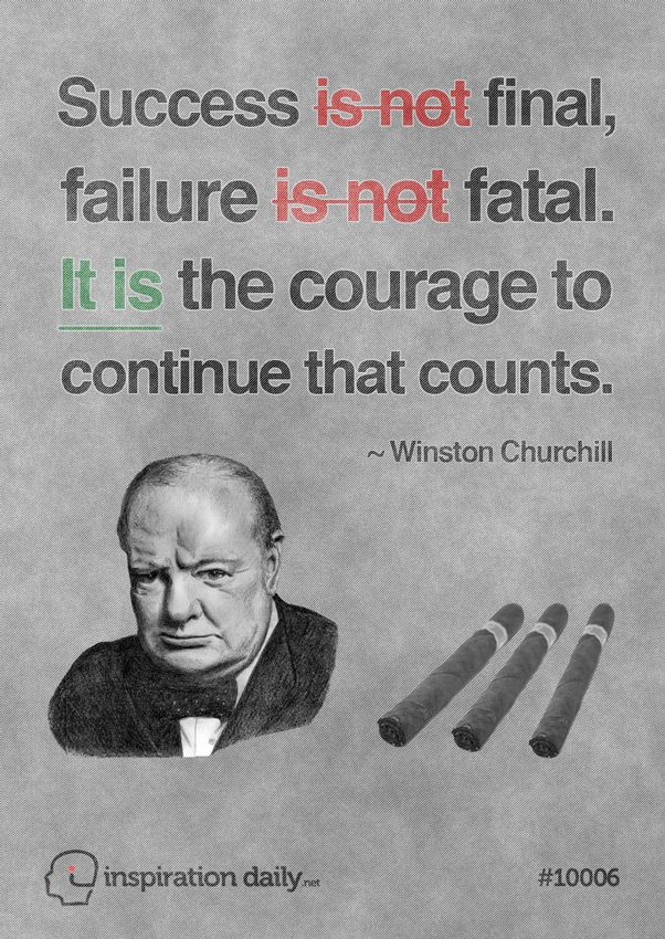inspirational business planning quotes churchill