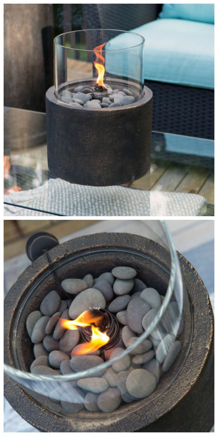 Tabletop Fire Bowl.