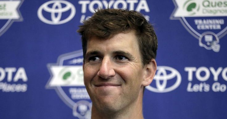Eli Manning downplays the age factor as Giants open camp #Sport #iNewsPhoto