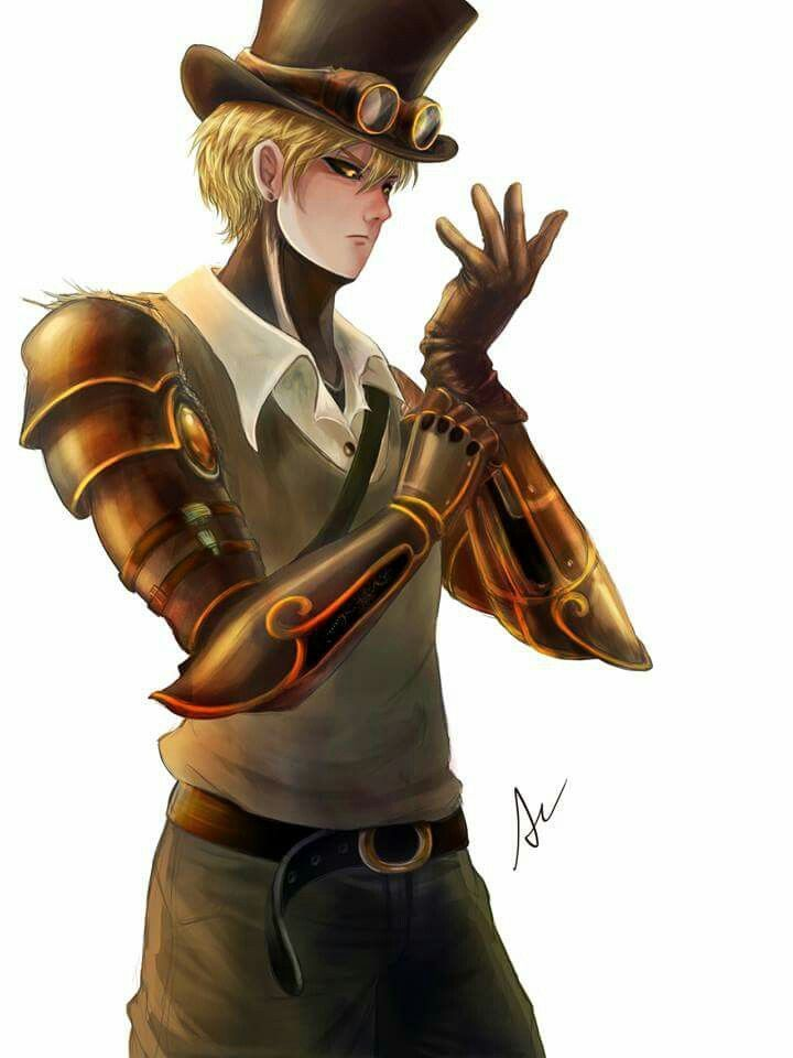 Genos As A Steam Punk One Punch Man One Punch Man In Love