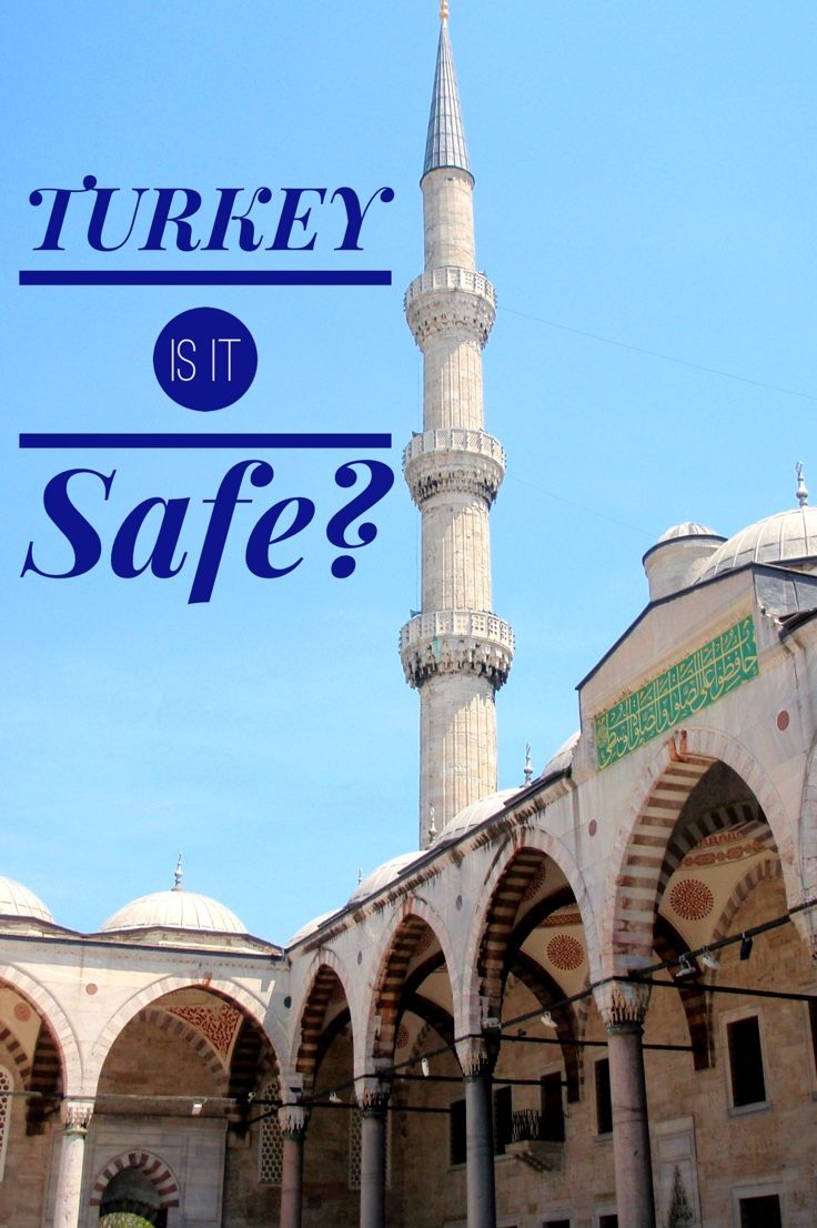 Is travel to Turkey recommended? Links to updating travel advisories for planning a trip to Turkey.