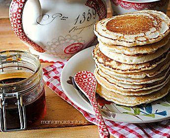 Pancake light senza uova e senza latte ricetta light