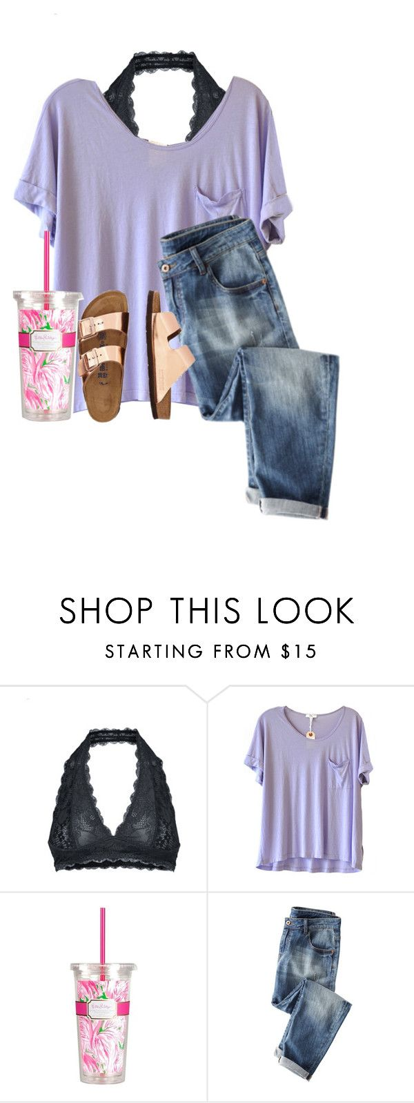 """""""Someone message me! I'm super bored!!"""" by lydia-hh ❤ liked on Polyvore featuring Free People, Clu, Lilly Pulitzer and TravelSmith"""