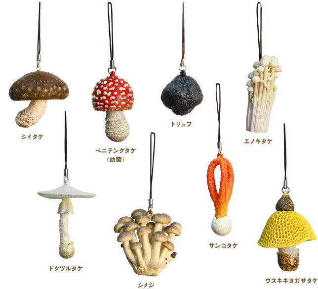 DIY Realistic Polymer Mushrooms (Inspiration Only. No Pattern or Instructions.)