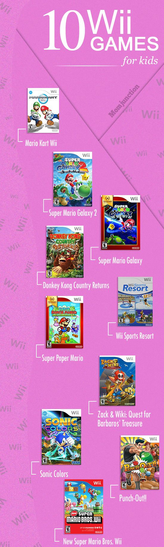 10 Best Wii Games For Kids
