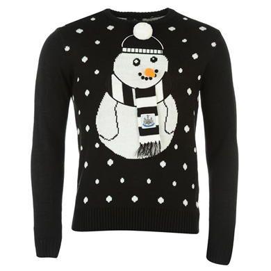 NUFC | Newcastle United Mens Novelty Christmas Jumper | Mens Knitwear