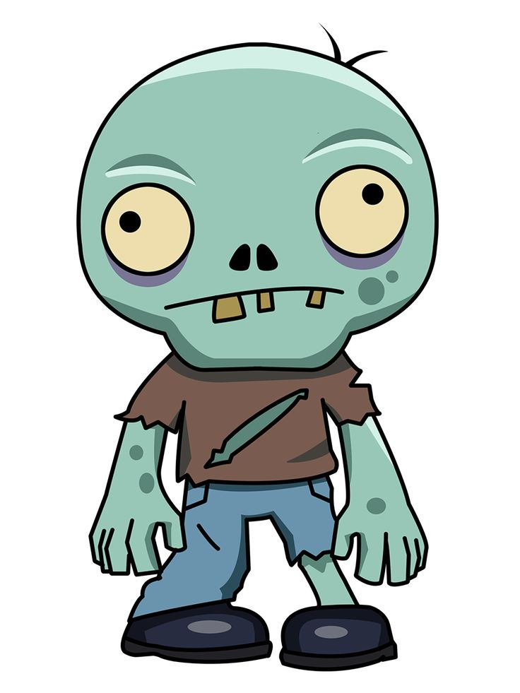 Gallery For gt Cute Zombie Cartoon Drawings