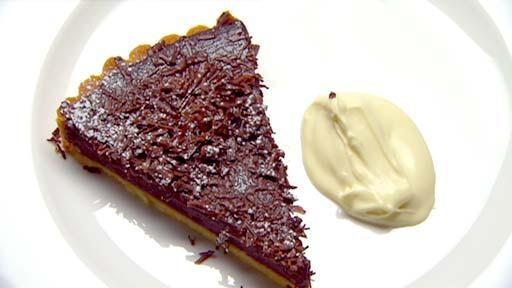 Chocolate tart Recipe by Marco Pierre White