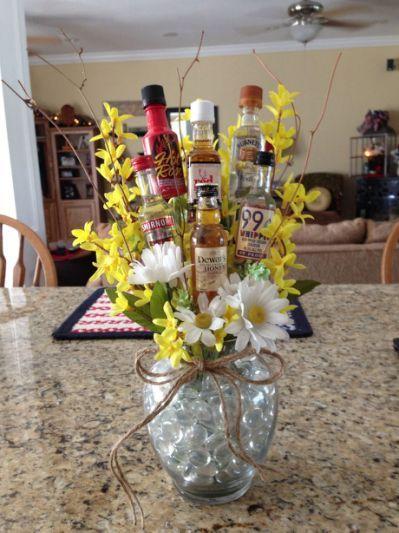 ... Bouquets, Liquor Bouquets For,