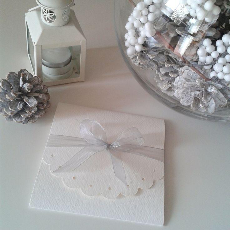 Winter elegant invitation