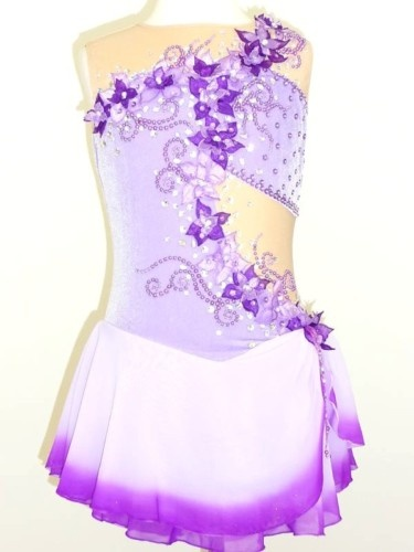 Stunning Custom Made to Fit Figure Ice Skating Dress | eBay