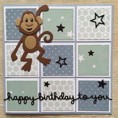 LindaCrea: Eline's Beestenboel #28 - Monkey Business