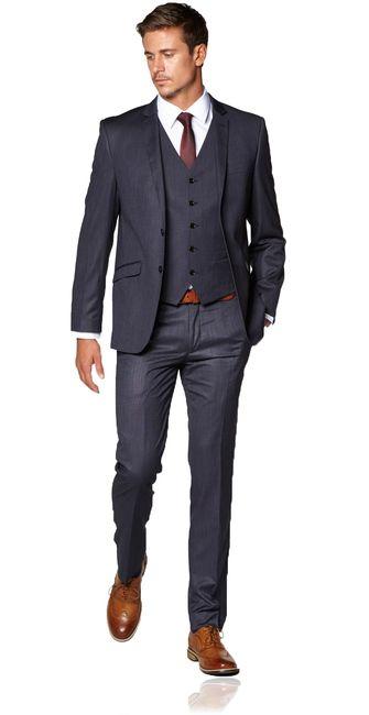 New Orleans Slim Suit - Hallensteins