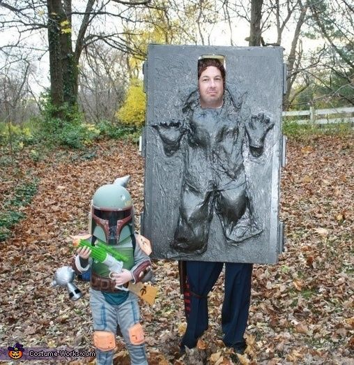 Star Wars http://www.gabsgoinggreen.com/21-killer-halloween-costumes-you-can-make-with-a-box/