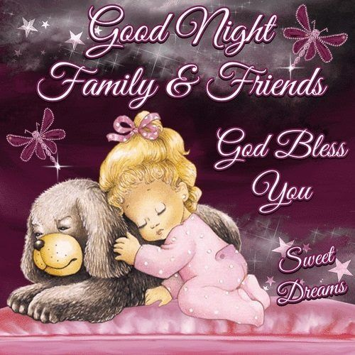Have a restful evening everyone and may God bless and be with you all !