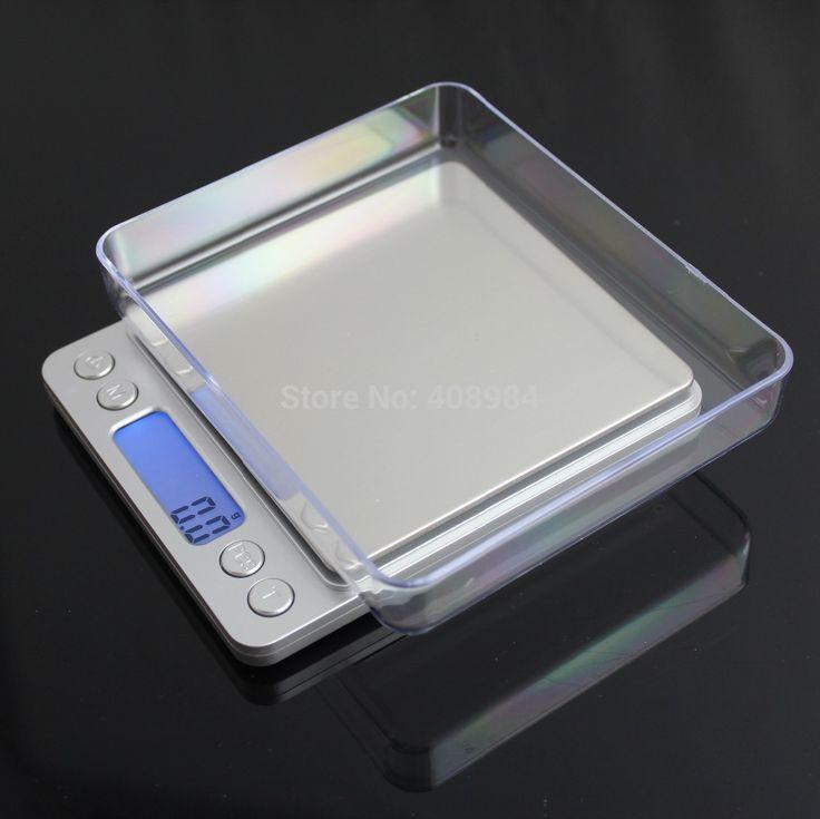 Dhl FEDEX 2000 г х 0.1 г 2 кг 3000 г 3 кг Портативный ЖК-Дисплей Карманные Электронные Цифровые ювелирные изделия Взвешивания Кухонные Весы Balance
