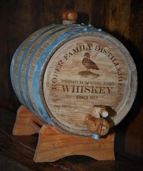 1 Oak Barrel engraved wine barrel whiskey by MemoriesMadeToronto