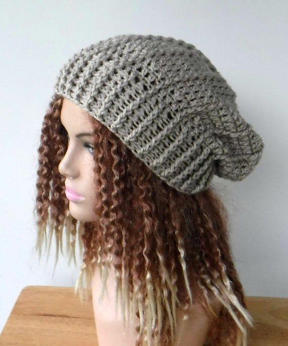 Handmade Beanie Winter Beanie Knit Hat Crochet Beanie Handmade Hat Soft Beanie Winter Hat