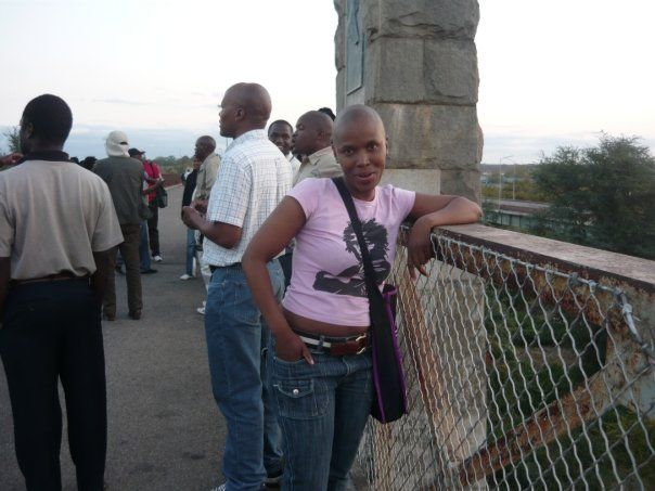 Beit Bridge, Border between South Africa and Zimbabwe