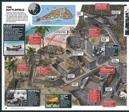 IWO JIMA: Illustration and Map - Cartografia Magazine