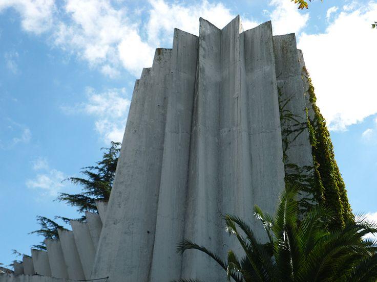 El abanico de Dios, iglesia Santa Teresa del Carmelo, ciudad de La Plata, Buenos Aires, Argentina.