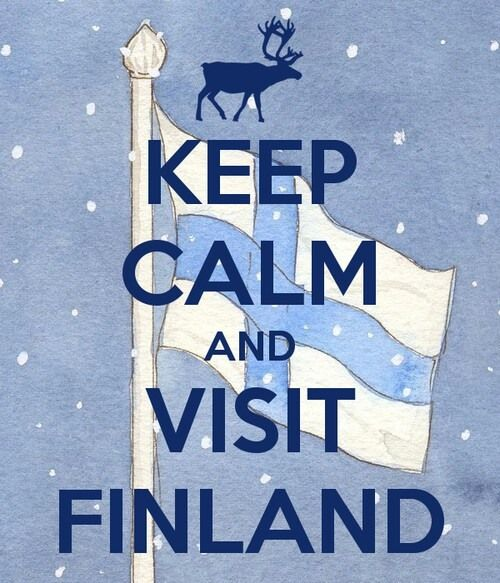 Keep Calm And Visit Finland