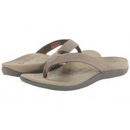 Vionic Orthaheel Wave Khaki Sandal