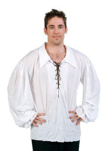 RG Costumes Renaissance Adult Shirt White One Size RG Costumes http://www.amazon.com/dp/B0040YT67K/ref=cm_sw_r_pi_dp_yerdvb05N7ZTX