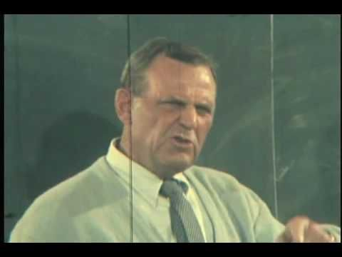 """Two+ Minutes of Total Genius.  How to win.  In football AND in life.  A lesson for all things.  Coach Paul """"Bear"""" Bryant's Locker Room speech."""