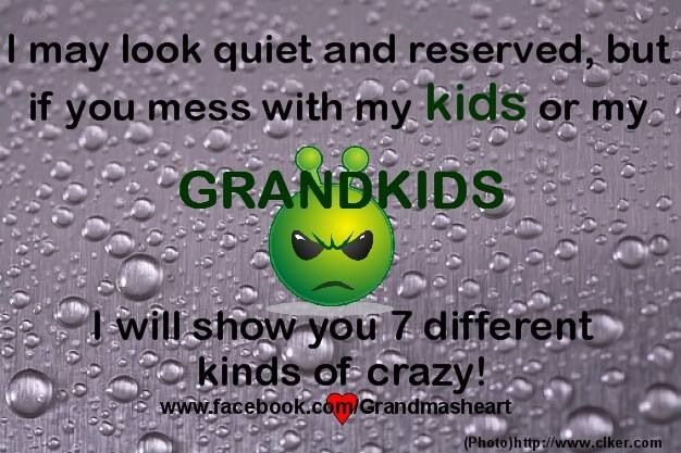 Don't Mess With My Grandkids!!