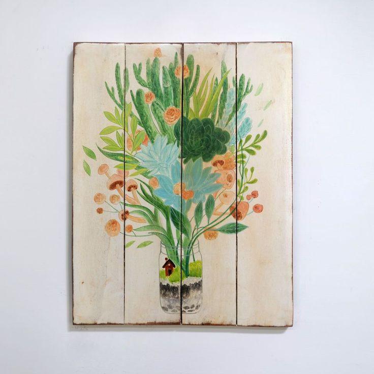 woodpainting   40 x 50 x 2 cm  #woodsign #posterkayu #desaincafe #hiasandinding #woodcraft #homedecor #dekorasirumah #vintagesign #painting #vintage #retro #walldecor #homedesign #herbs #freshfruit