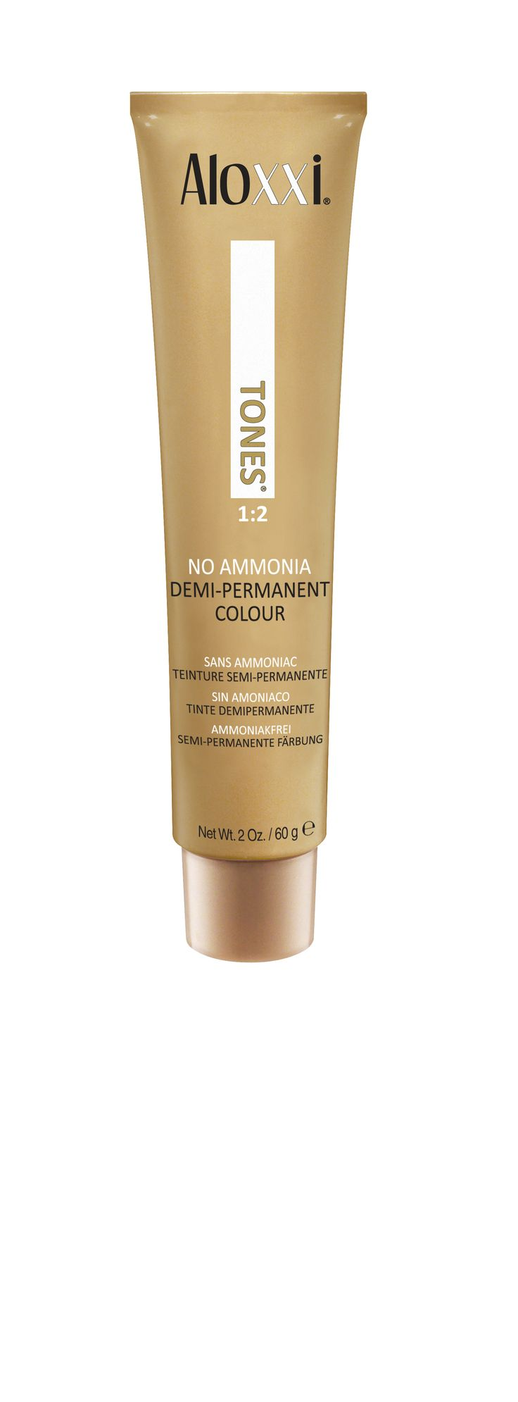 Aloxxi TONES Demi-Permanent Colour. TONES no lift Demi-Permanent Colour delivers beautiful depth and coverage and is the perfect partner for CHROMA Permanent Creme Color.  professional hair color | professional hair care | professional hair products | pro hair