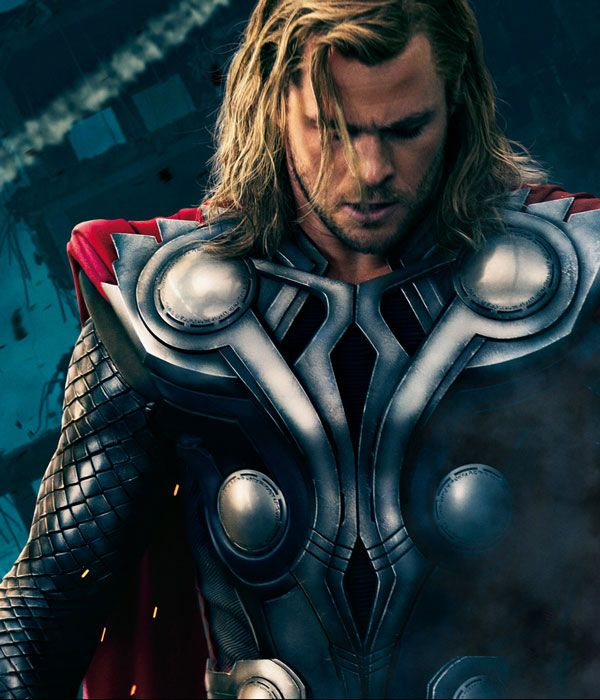 Thor in the Avengers movie