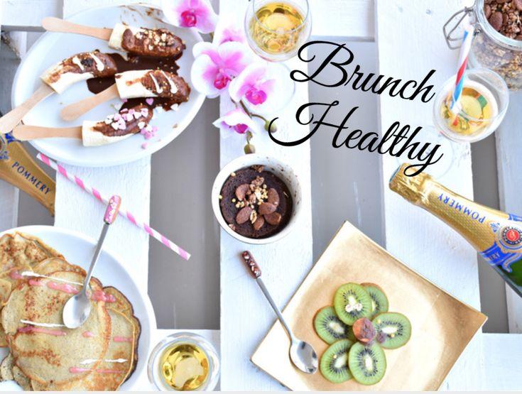 Le brunch Healthy du dimanche matin!    Pour un brunch de dernière minute ou plus élaboré, voilà de quoi vous régaler les papilles sans culpabiliser! Réalisable en un minimum de temps avec peu d'ingrédients pour un maximum d'effet.    Trois recettes saines et gourmandes très faciles à réliaser!