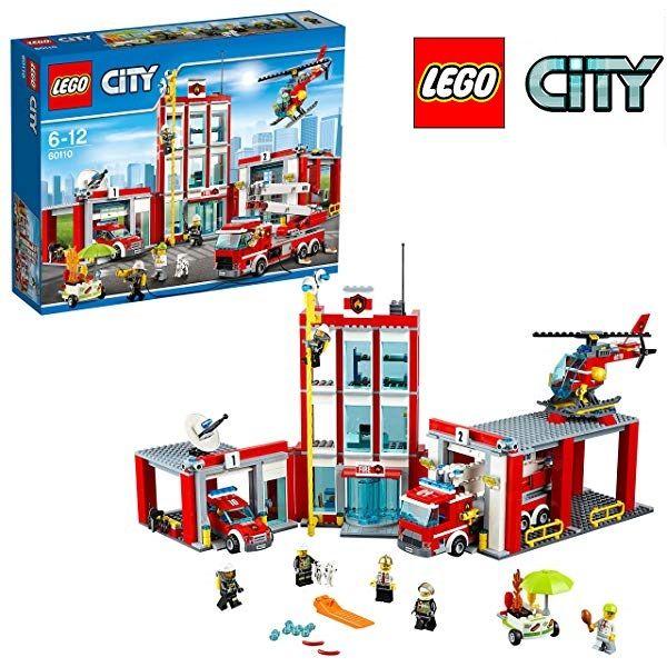Chollo Lego City Estación De Bomberos 60110 Por 50 86 Euros Lego City Fire Lego City Fire Station Lego Fire