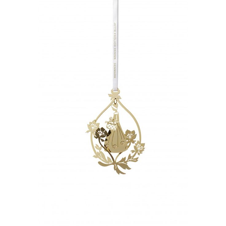 The Flower girl mobile, Gold plated18 ct.