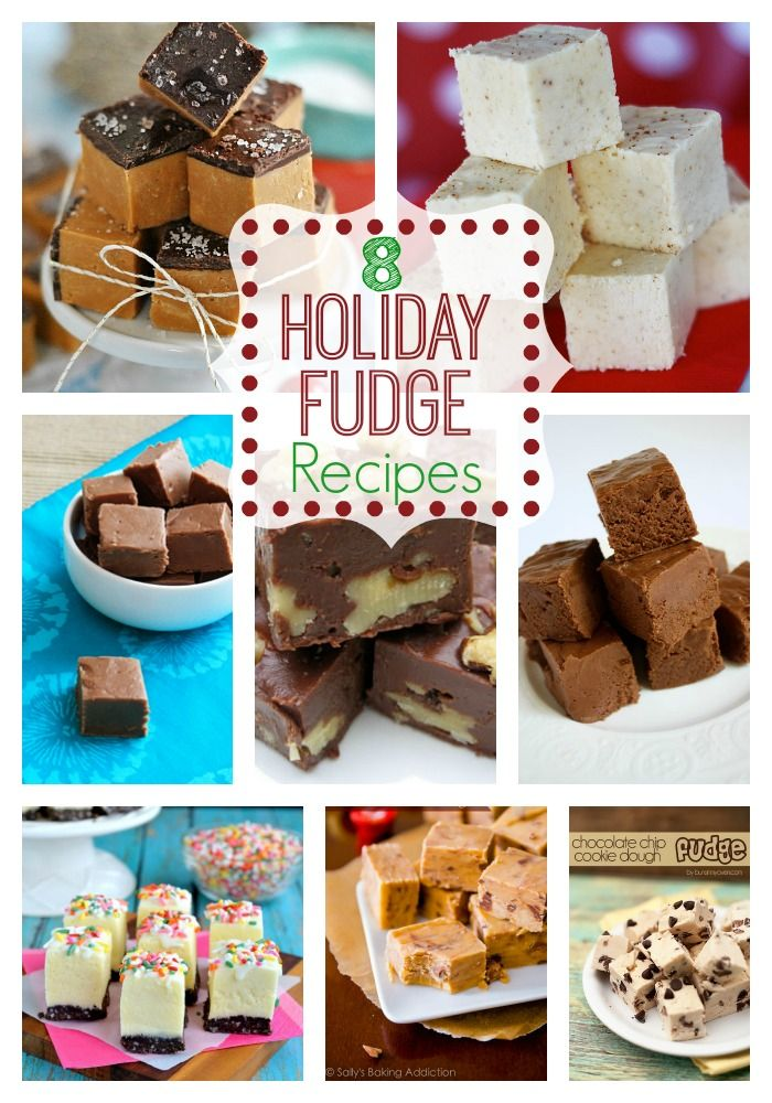 8 Holiday Fudge Recipes