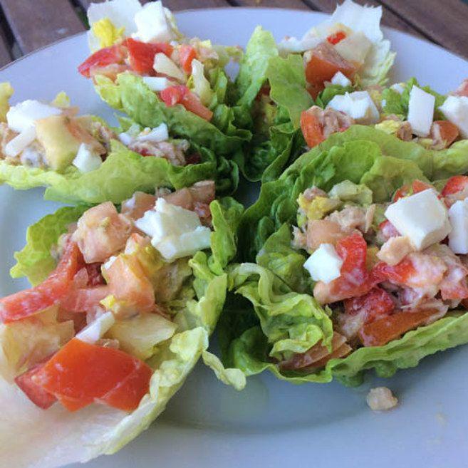 Tacos de lechuga. | 25 Recetas de divinas ensaladas que vas a querer hacer durante todo el año