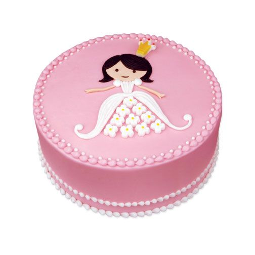 Simple but cute princess cake @Cara-Noelle Capps